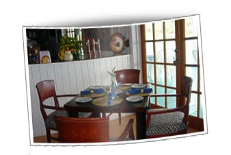 Eleuthera restaurant dining room